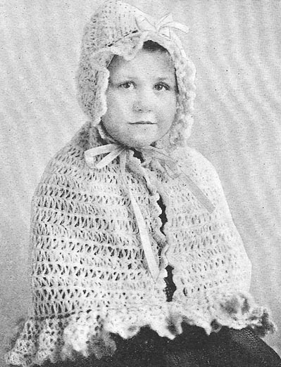 Hooded Crochet Cape Pattern Easy Crochet Patterns