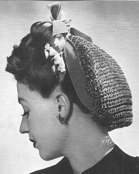 Vintage Las Hats knitting patterns available from The Vintage