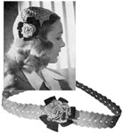 1944 Calot and Belt Set Crochet Patterns. This Calot and Belt Set will highlight any costume for the young miss of the family. So easy to make -and inexpensive too. Can be made in any of the popular colors, of course ...