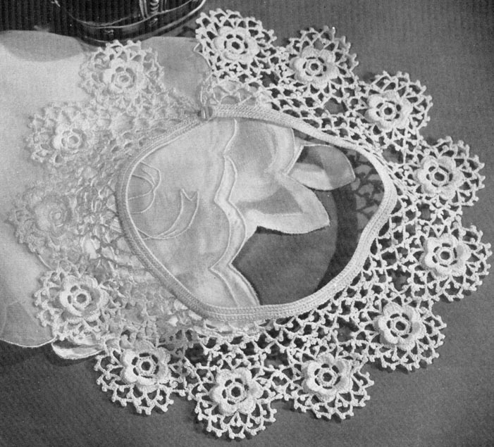 Crochet Lace Pattern : Copyright ? Annalaia. All rights reserved.