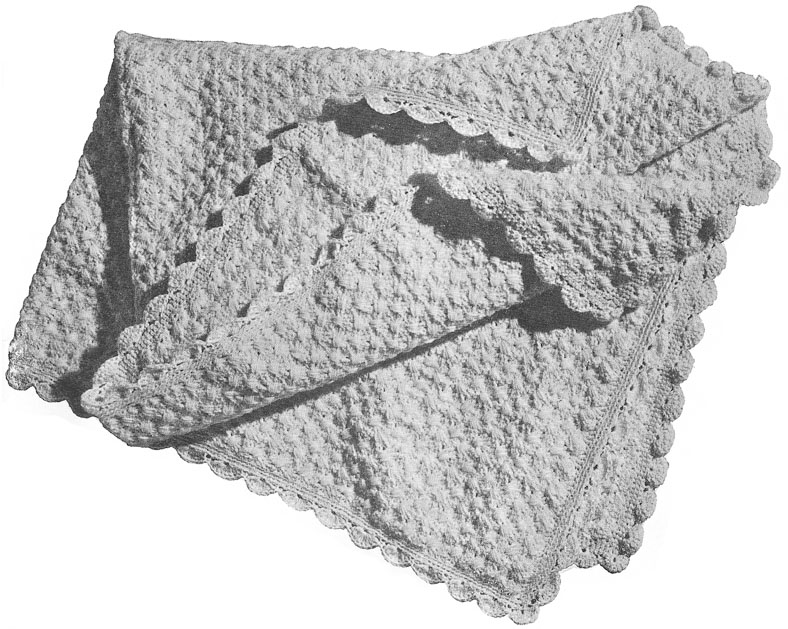 Lacy Lilac Blanket | crochet today