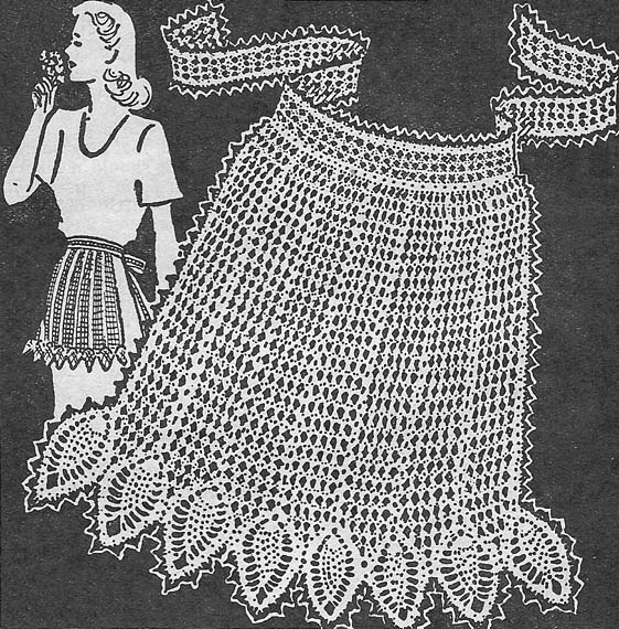 FASHION DOLL APRON Crochet Pattern - Free Crochet Pattern