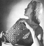 1946 Snood and Bag Set Crochet Patterns.