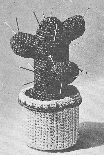 Vintage crochet Patterns - Patterns for The Home - Pincushion