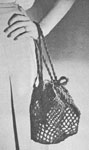 1947 Carry-All Shopping Bag Crochet Pattern