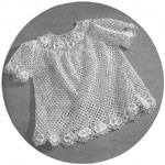 eBay - CROCHET Pattern Baby Toddler DRESS Clothes Easter NEW
