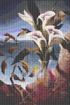 Bouquet of Calla Lilies Cross Stitch Patterns