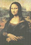 Mona Lisa by Leonardo da Vinci Cross Stitch Pattern