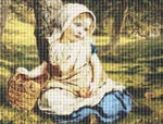 Windfalls by Sophie Anderson Cross Stitch Pattern